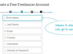 How to Create an oDesk Contractor Account