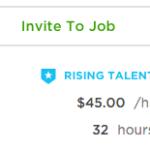 Upwork Rising Talent