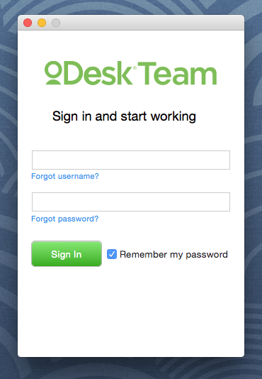 oDesk Log In