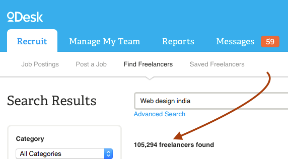 odesk freelancers from idia