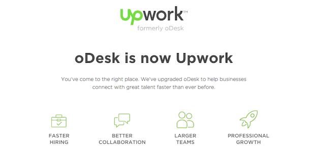 odesk now upwork